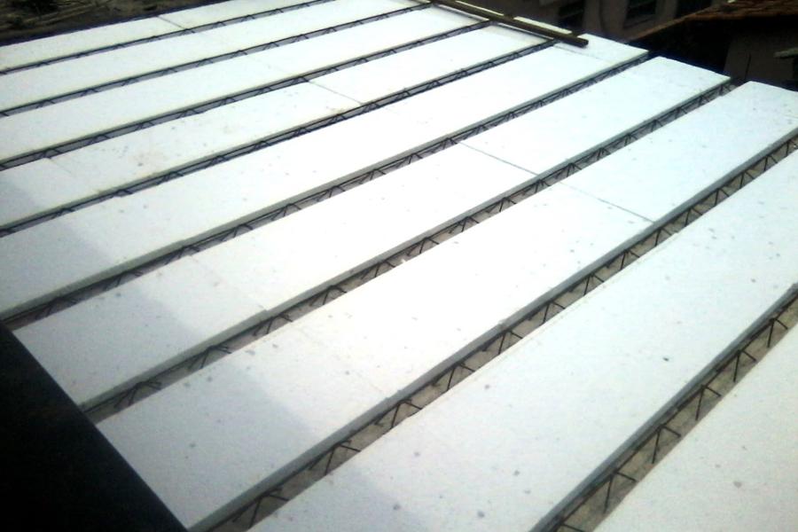 Como montar laje com isopor EPS - Inova Concreto