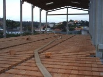 Laje Edificio - Obras