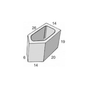 Blocos de concreto - Bloco 45º - Inova Concreto
