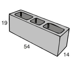 Blocos de concreto - Amarração 14-19-54 - Inova Concreto