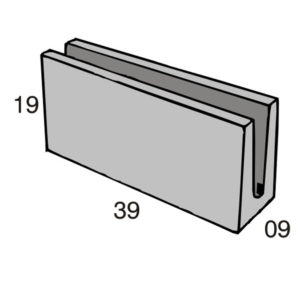 Blocos de concreto - Canaleta 09-19-39 - Inova Concreto