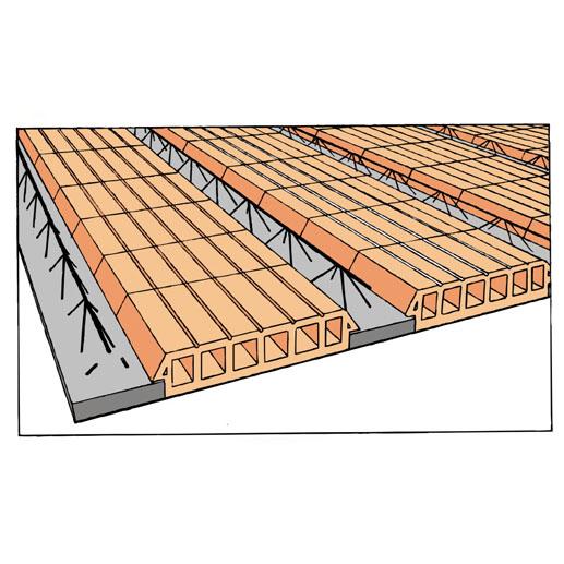 Blocos de concreto - Laje com cerâmica - Inova Concreto