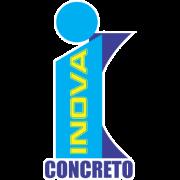 Logotipo inova concreto blocos de concreto artefatos de concreto