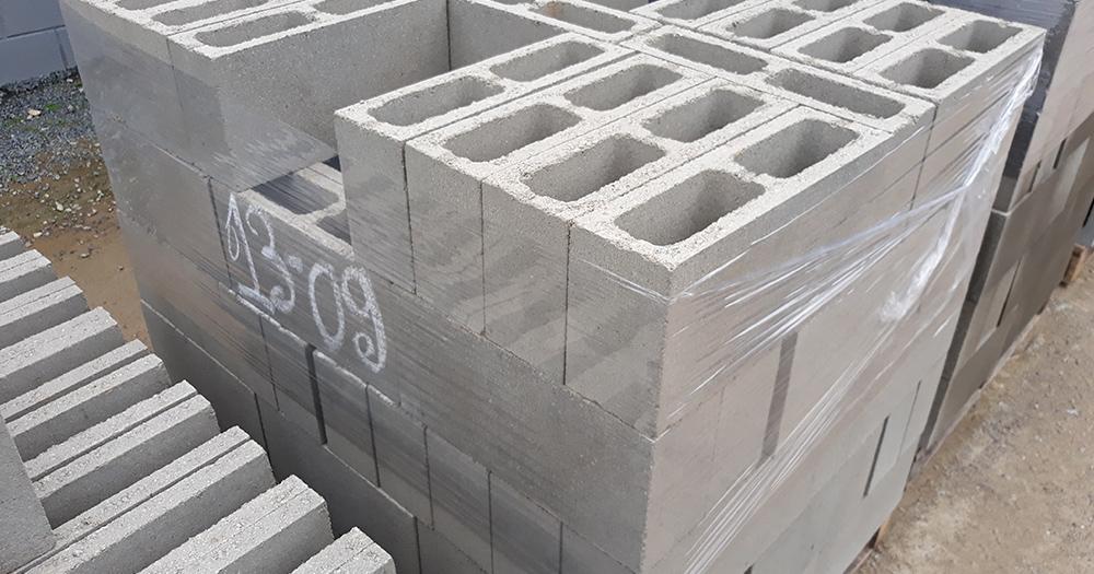 bloco de concreto 11,5 cm