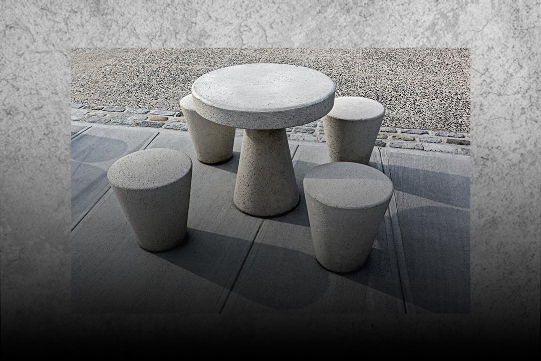 4 artefatos em concreto - Inova Concreto