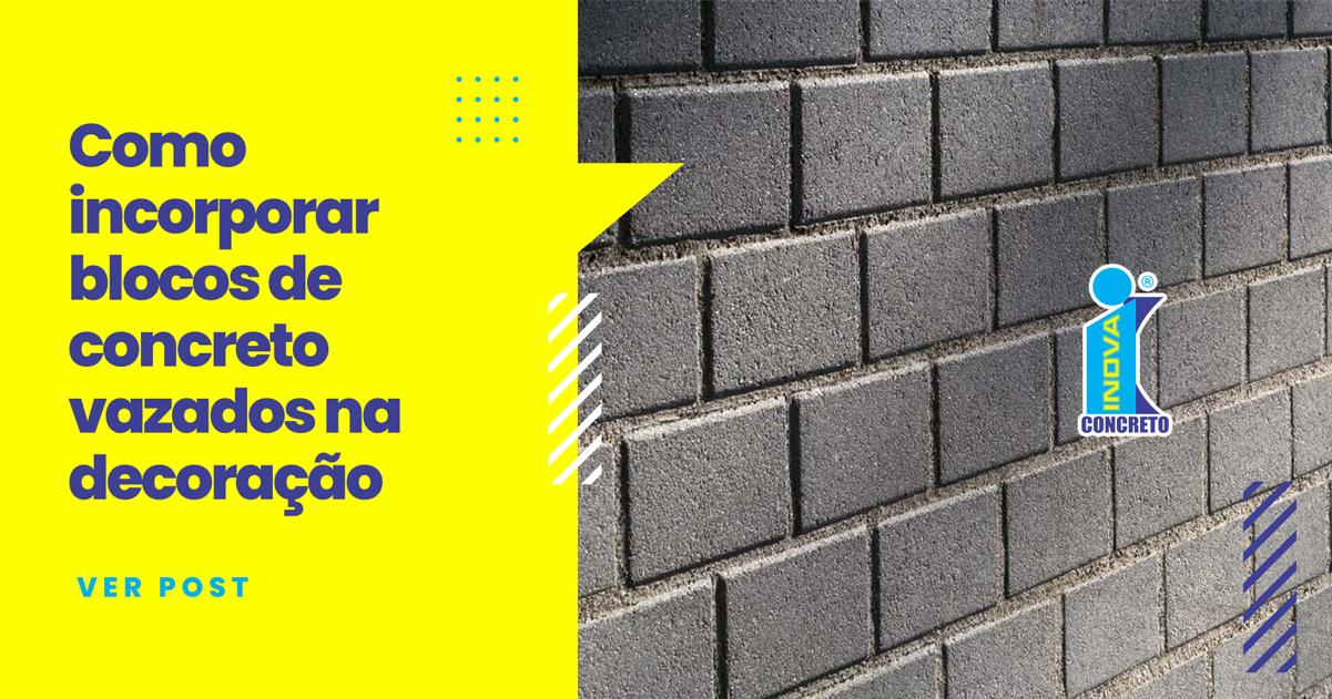 blocos de concreto vazados